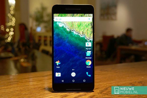 Google Nexus 6P voorzijde