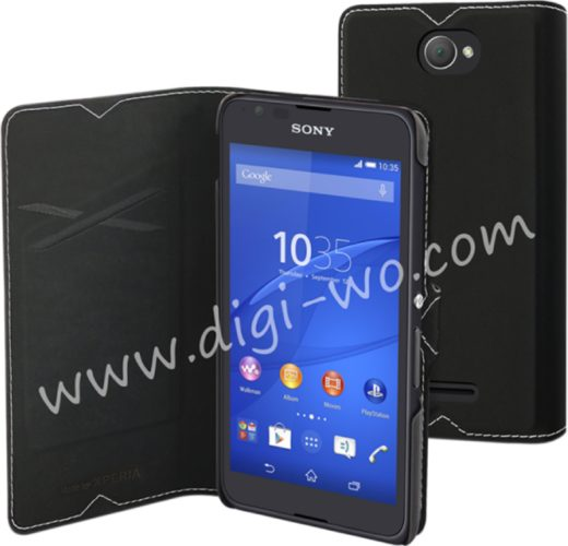 Sony Xperia E4 render