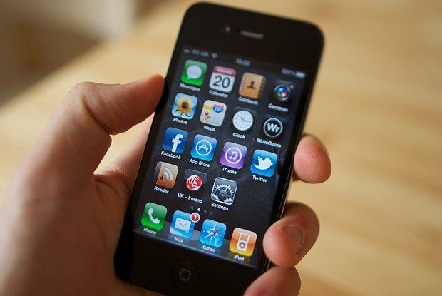 iPhone 4 in hands
