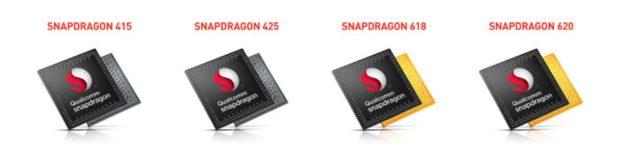 Qualcomm Snapdragon line up