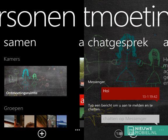 Windows Phone Rooms