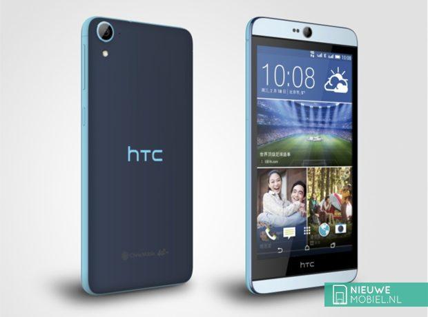 HTC Desire 826 in blue