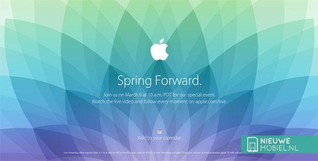 Apple Spring Forward