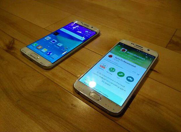 Samsung Galaxy S6 Edge and S6