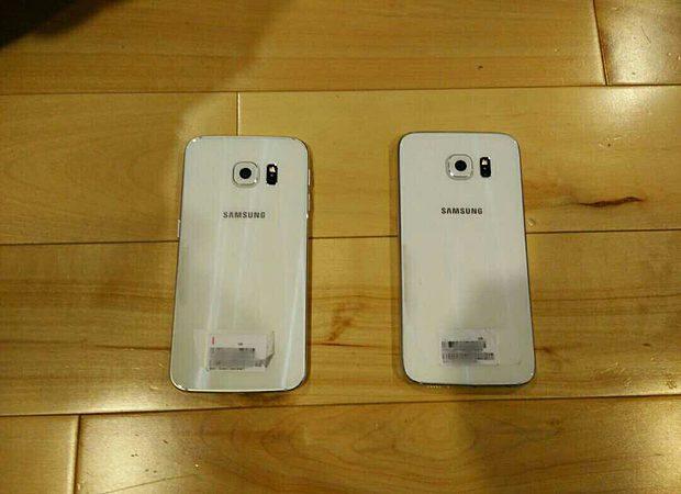 Samsung Galaxy S6 Edge S6 rear