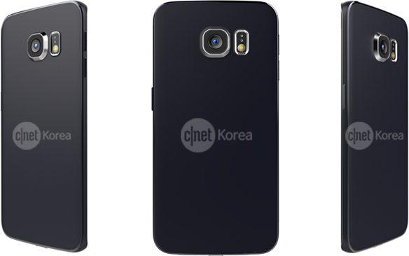 Samsung Galaxy S6 Edge rear