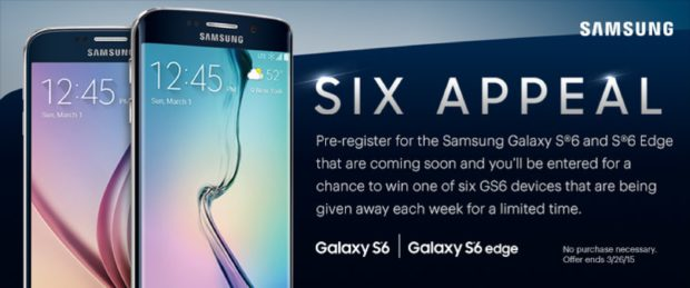 Samsung Galaxy S6 and S6 Edge Sprint promo