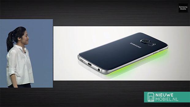 Samsung Galaxy S6 Edge calling color id