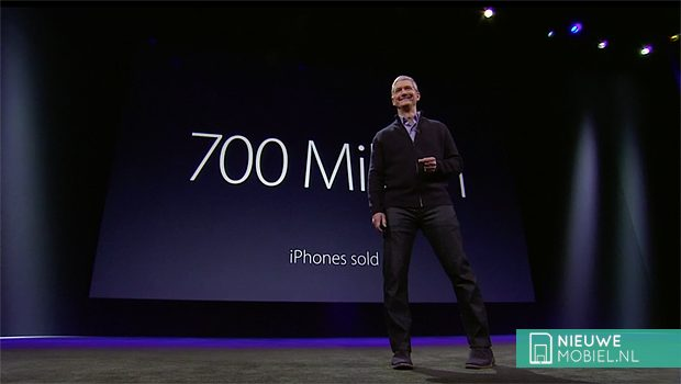 700 million iPhones sold