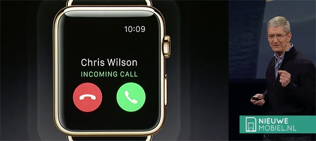 Apple Watch calling