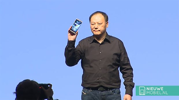 Peter Chou with HTC One M9