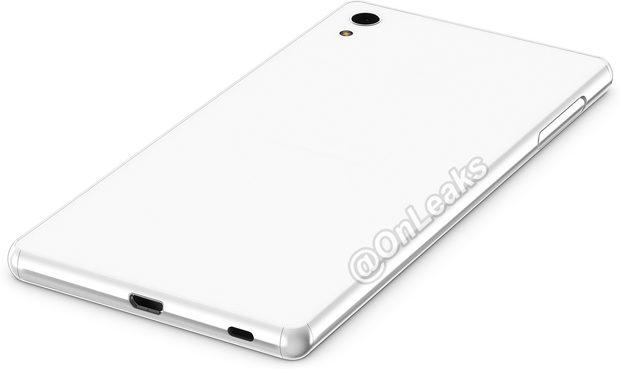 Sony Xperia Z4 rear
