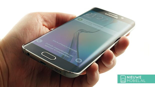 Samsung Galaxy S6 edge in hands