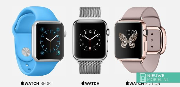 Apple Watch editions