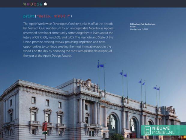 WWDC16