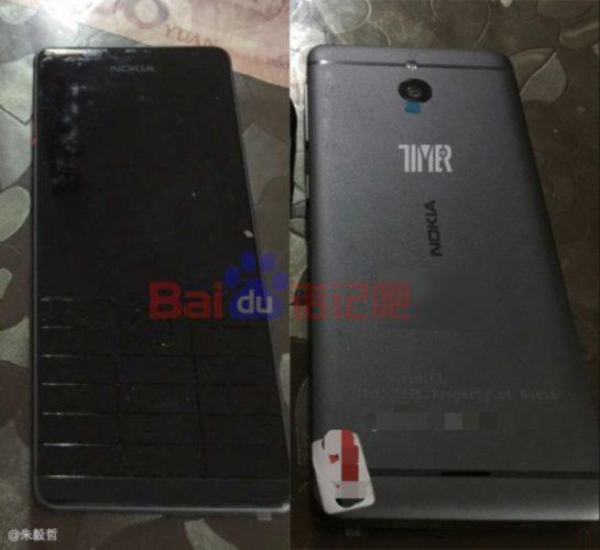 Nokia featurephone prototype