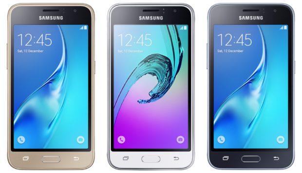 Samsung Galaxy J1 (2016) kleuren