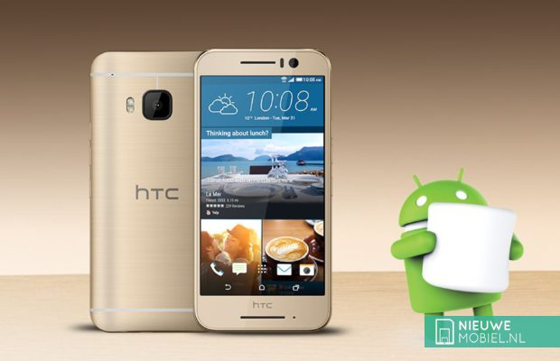 HTC One S9 met Android Marshmallow