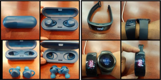 Samsung Gear Fit 2 en IconX