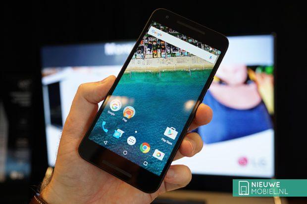 Google Nexus 5X zwart