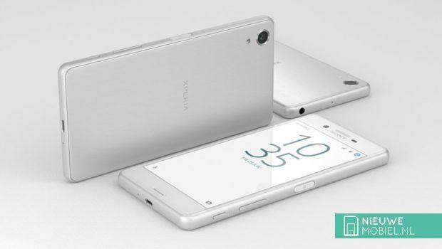 Sony Xperia X Performance in het wit