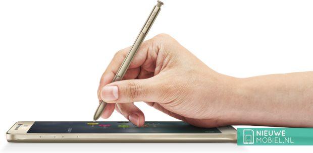 Samsung Galaxy Note 5 aantekening