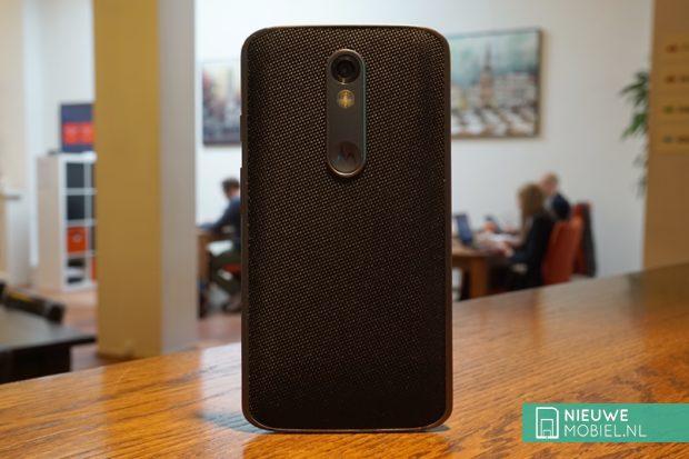 Motorola Moto X Force achterkant