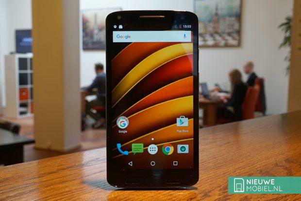 Motorola Moto X Force voorkant