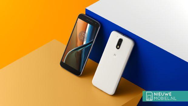 Motorola Moto G4 voor- en achterkant