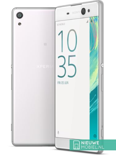 Sony Xperia XA Ultra in het wit