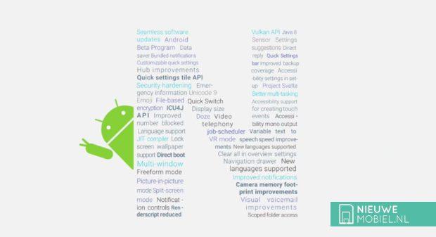 Android N functies