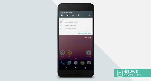 Android N notificaties