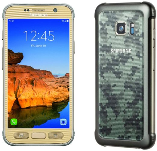 Samsung Galaxy S7 Active kleuren
