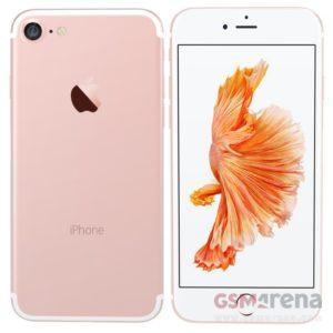 Apple iPhone 7 render