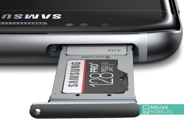 Samsung Galaxy S7 geheugenkaart