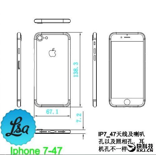 Apple iPhone 7 schema