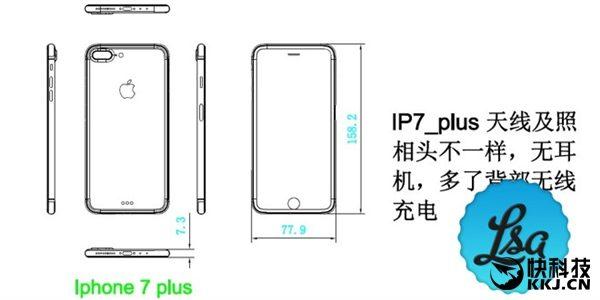 Apple iPhone 7 Plus schema