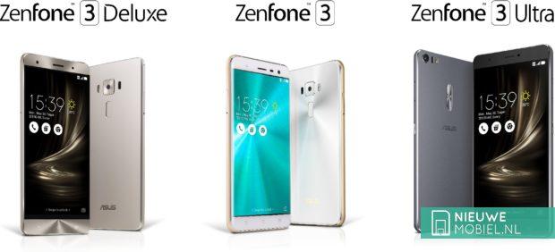 Asus Zenfone 3 serie