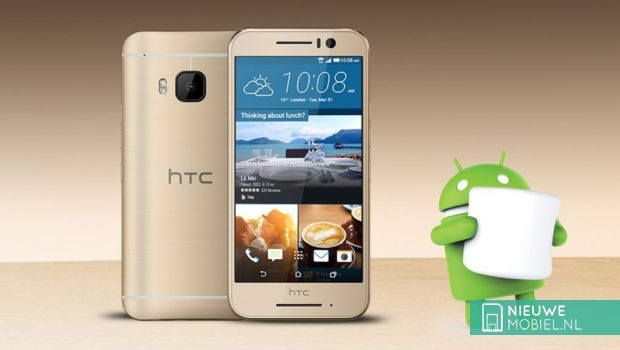 HTC One S9 goud