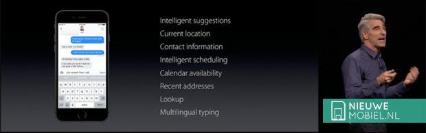 iOS 10 QuickType