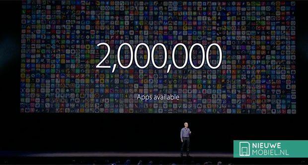 Apple App Store doorbreekt grens van 2 miljoen apps