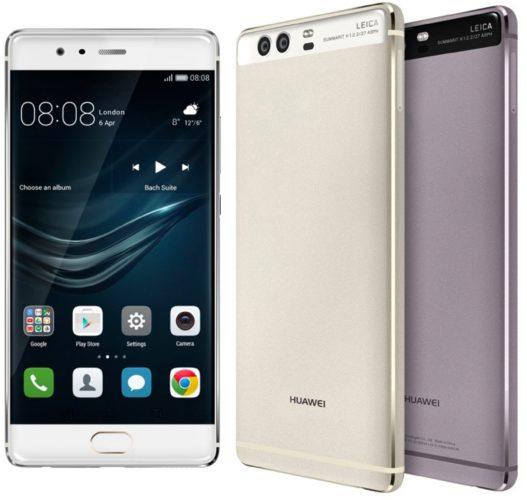 Huawei P9 vingerafdrukscanner voorop