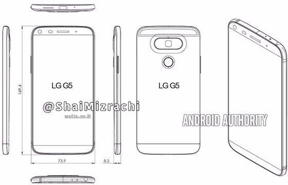 LG G5 schema