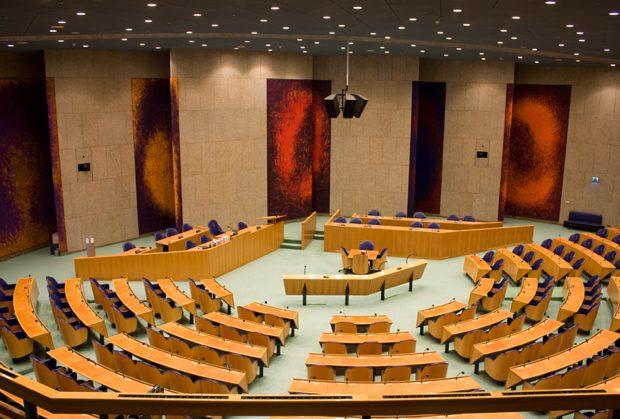 Vergaderzaal Tweede Kamer