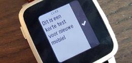 Pebble Time-horloges verstaan nu ook gesproken Nederlands