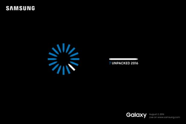 Samsung kondigt moment onthulling Galaxy Note 7 aan