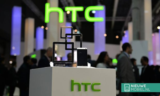 HTC tijdens het Mobile World Congress