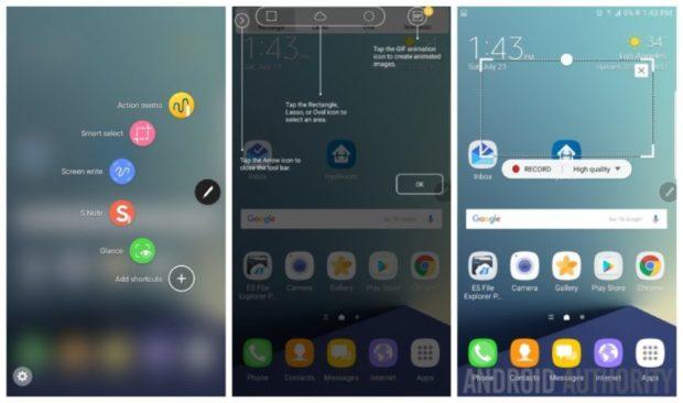 Samsung Galaxy Note 7 Grace UX TouchWiz