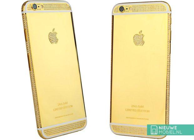 Coolblue verkoopt 24 karaats gouden iPhone 6