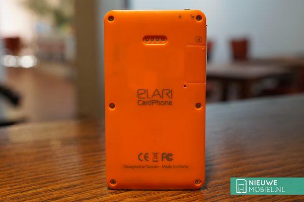 Elari CardPhone achterkant